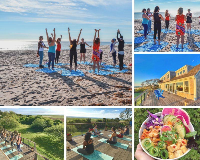 15 Day 200-Hour Yoga Teacher Training Oceanview Boutique Retreat in Cape Cod Massachusetts
