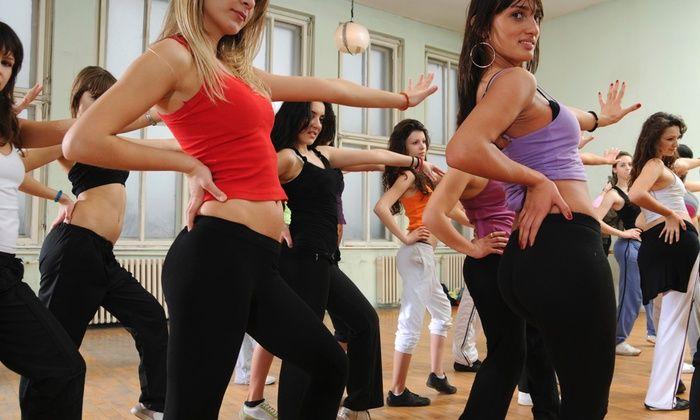 buti yoga dancing class
