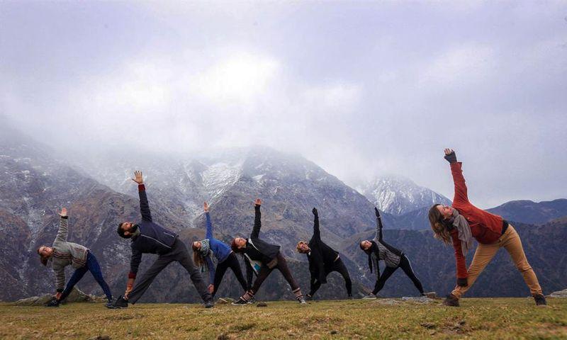 yoga in pokhara