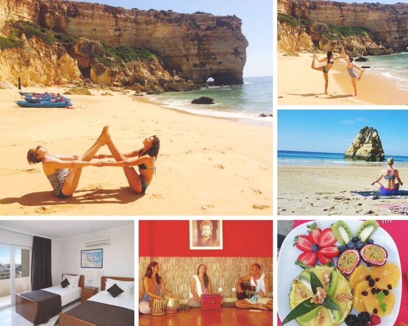 16 day 200 hour vinyasa , ashtanga and ayurvedic massage in portimao algarve