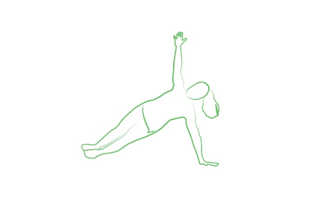 side plank yoga pose tripaneer