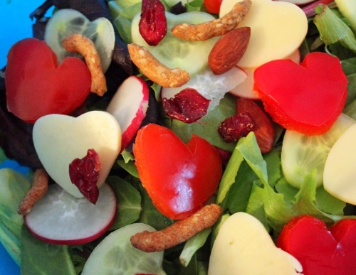 show the love salad