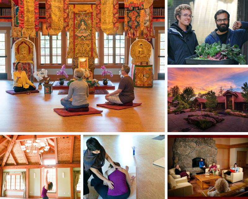 yoga retreat in Cazadero California