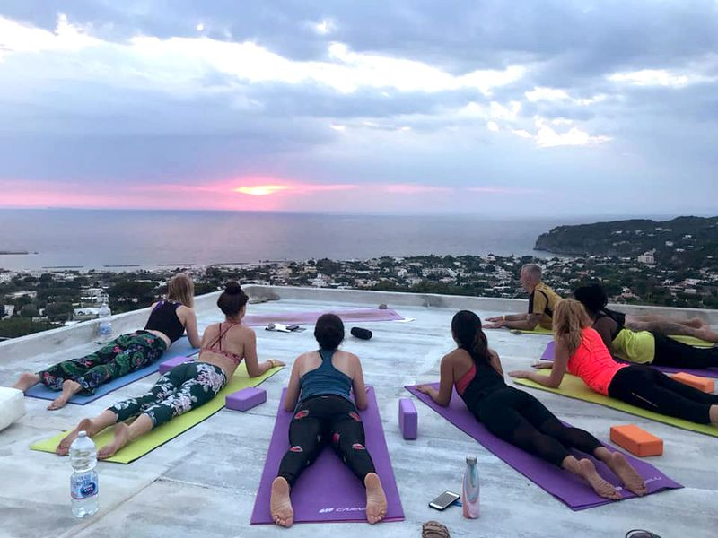 yoga in italy at a glance