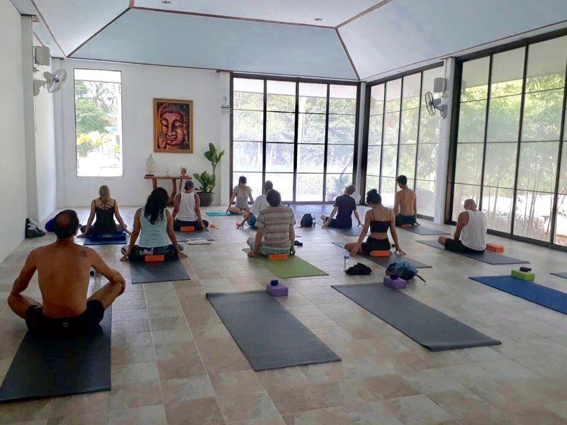 yoga shala retreat in thailand