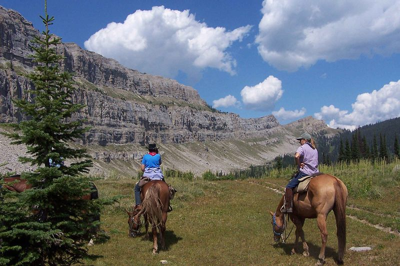 Montana pack trip
