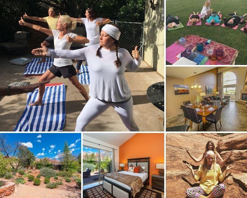 hiking, yoga, and meditation retreat in arizona