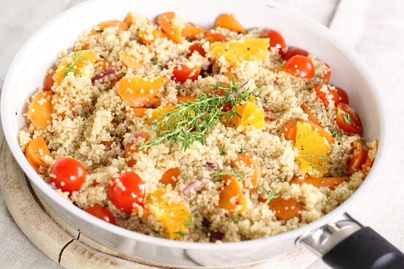 gluten-free quinoa dish