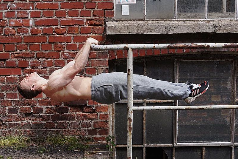 calisthenics training