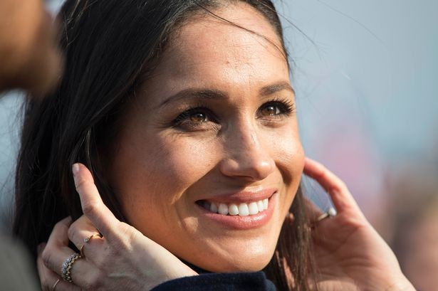 Meghan Markle face close up