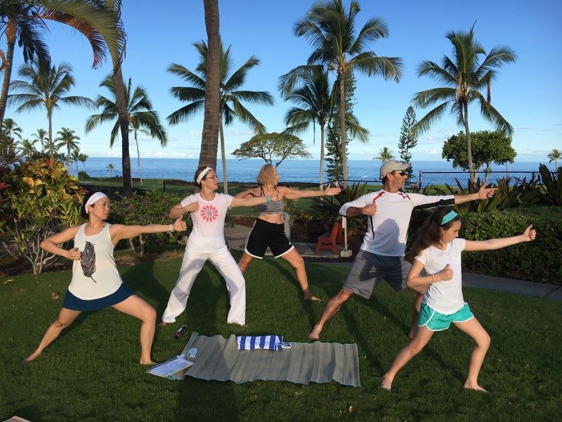 yoga retreat in hawaii
