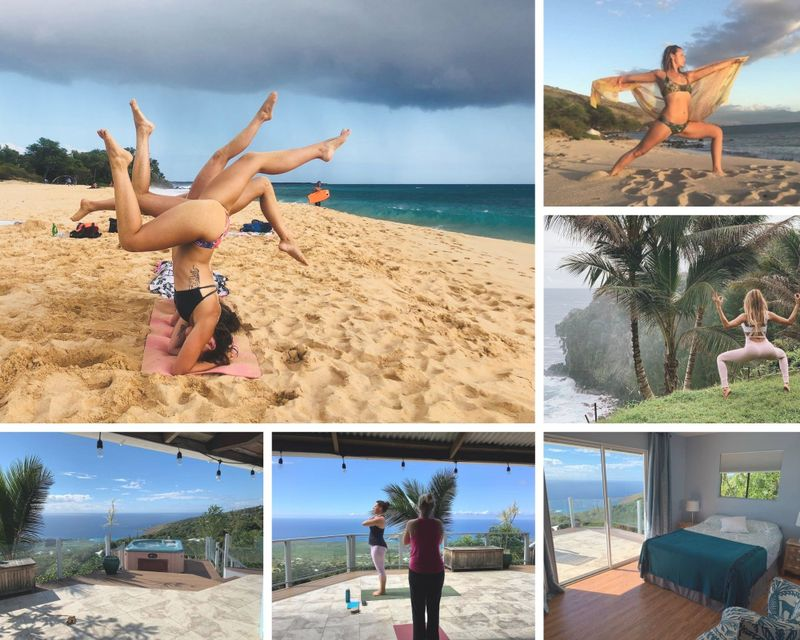 hatha & vinyasa ytt in hawaii