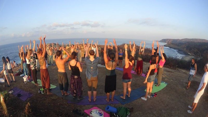 omshanti yoga retreat barcelona