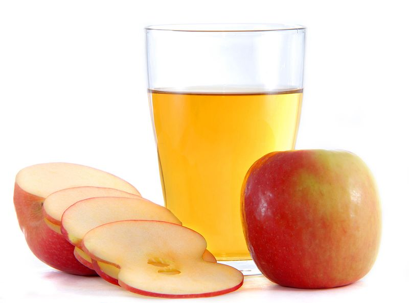 apple cider to detox