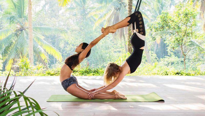 yoga teacher in ubud