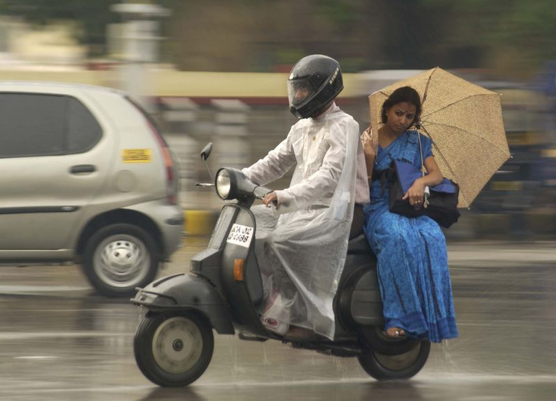 motorcycle tour rain