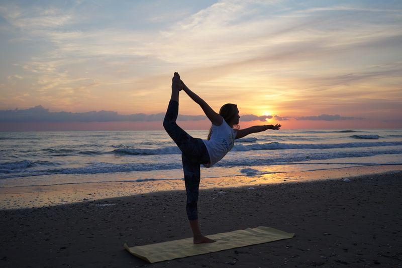 yoga in italy