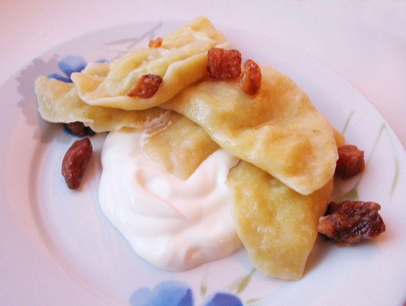 Galushki - Ukrainian dumplings