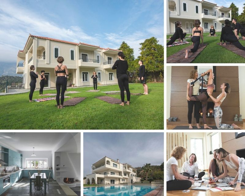 affordable yoga teacher training in europe - 8 days continuing education ytt in Greece