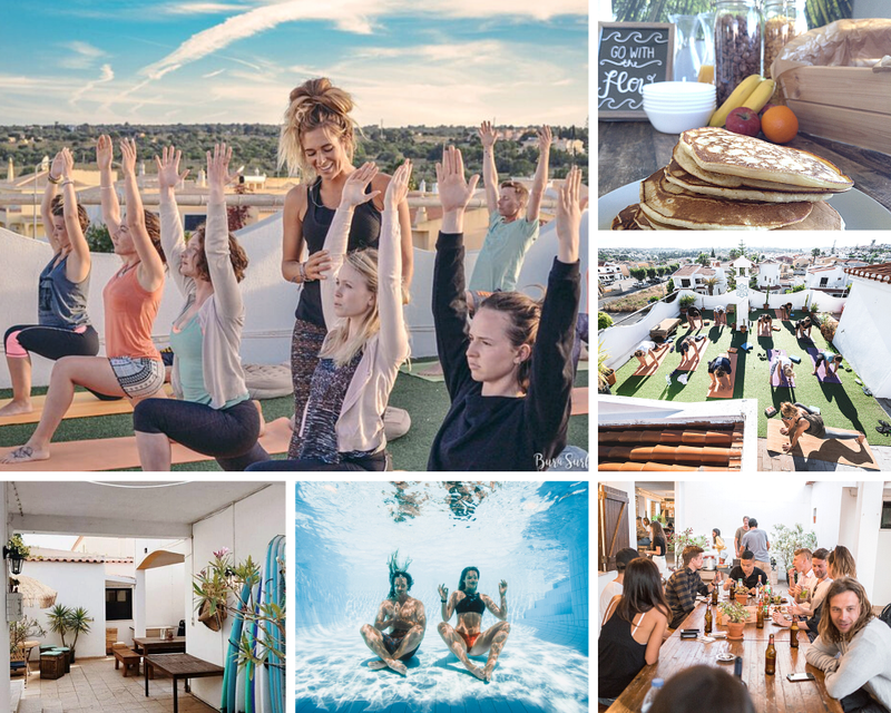 yoga and work in Portugal