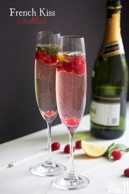 easy cocktails: light french kiss cocktail