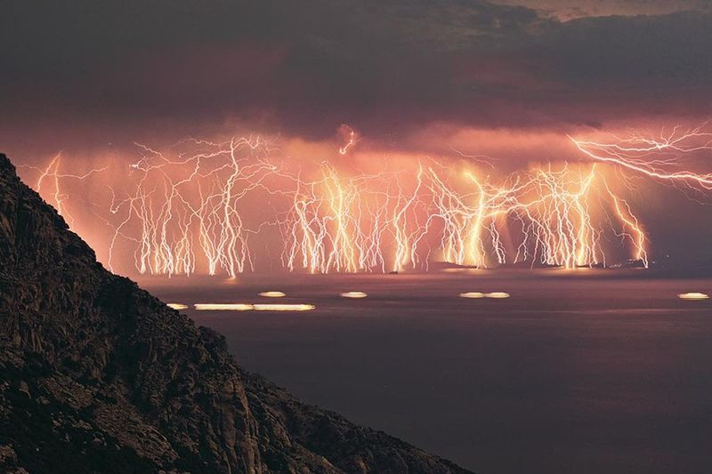 Catatumbo Lightning strikes in Venezuela