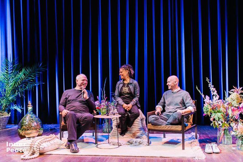 Eddie Stern, Katiza Satya & Max Strom