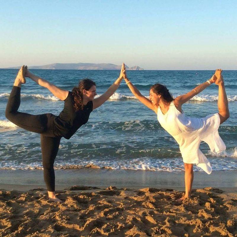 yoga teacher training in crete, greece