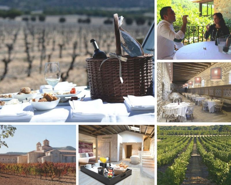 5-star hotel and private culinary vacation in spain