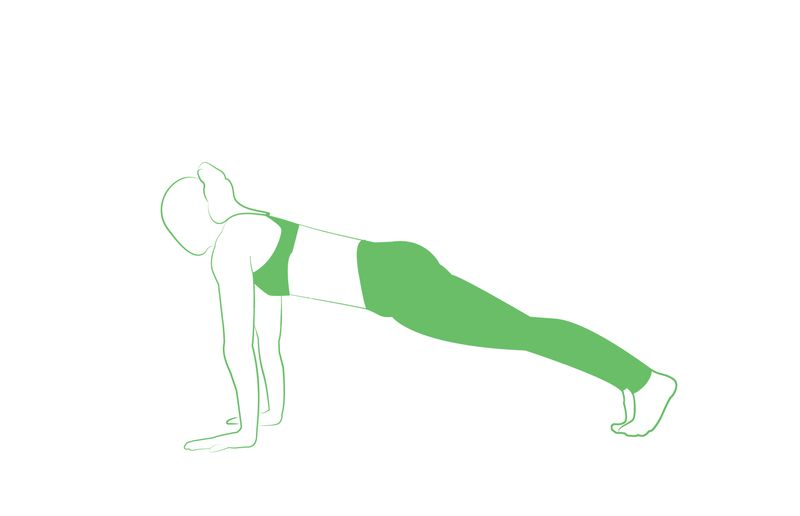 plank yoga pose for weight loss