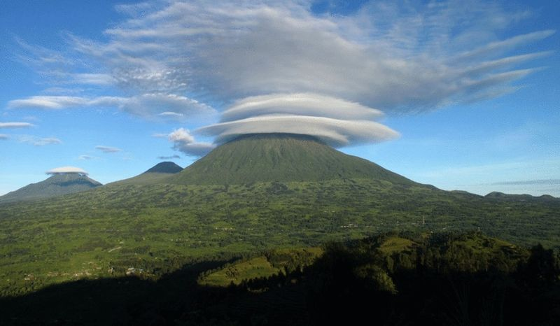 Volcano in Volcanoes National Park