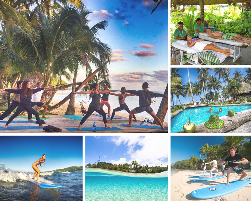 fiji yoga surf holiday